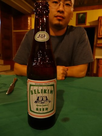 Crystal Paradise Resort: Belikin: the beer of Belize!