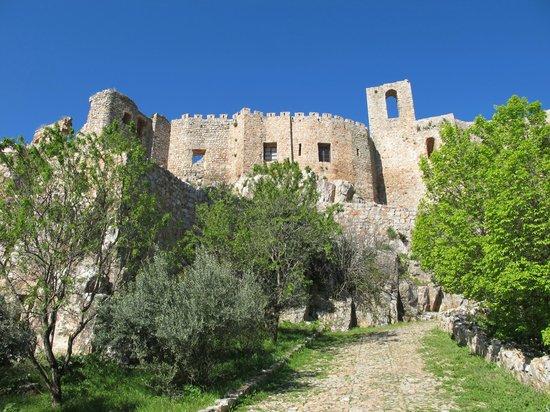 Sacro Convento y Castillo de Calatrava La Nueva: Acceso al castillo