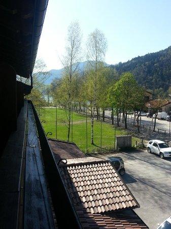 Hotel Garni Minigolf : panorama del lago dalla camera
