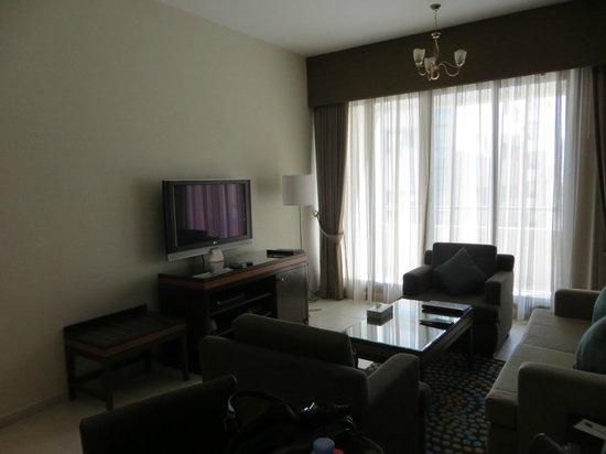 เอ็กซ์คลูซีฟ โฮเต็ล อพาร์ทเมนท์: living area