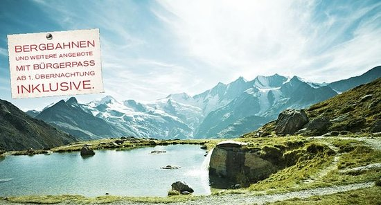 Chalet Alpenruh : Sommer Special