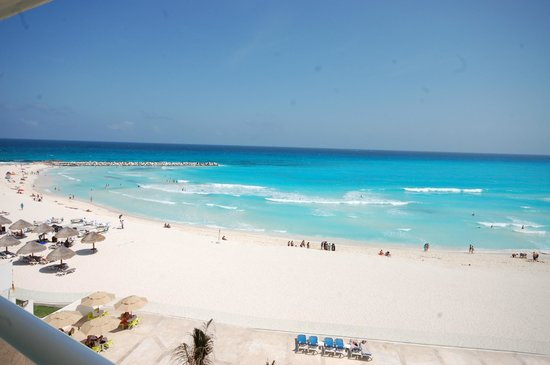 Krystal Cancun Beach At Resort View From Our Balcony