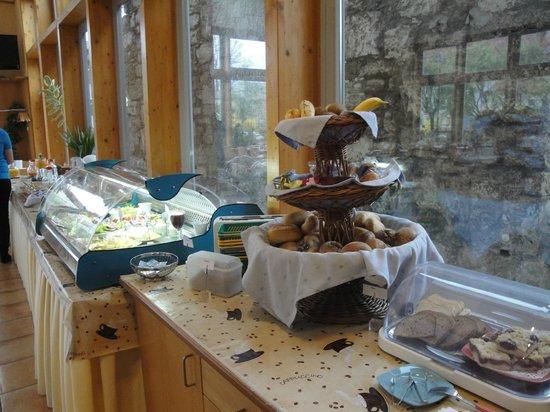 Hotel Weidenmuhle: Frühstück