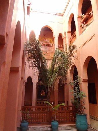 Riad Bahia Salam: Inside Courtyard