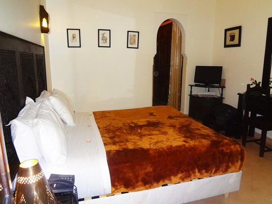 Riad Bahia Salam: The room (101 Ground Floor)