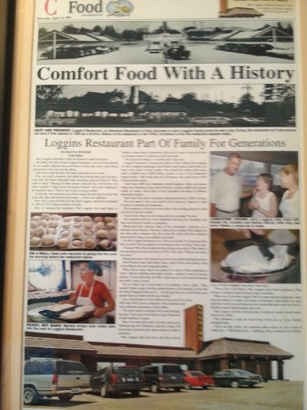 Loggins: Local Paper Article