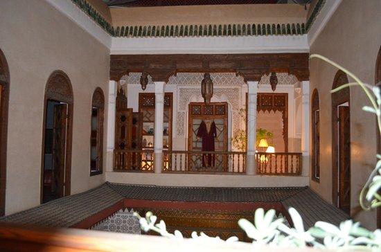 Riad Dar Zahia: panorama dalla suite