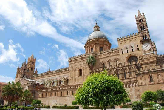 Passage to Sicily : Palermo Cathedral