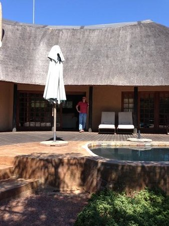 Monate Game Lodge: Hampton lodge