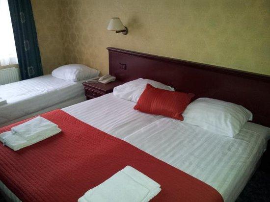 Hotel Zwanenburg: 2-person plus 1-person bed