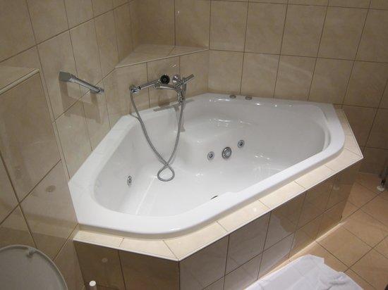 Hotel Zwanenburg: jacuzzi bath