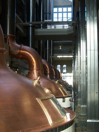 The Brewhouse Inn & Suites: Brew Kettles