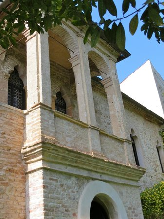 Casa del Petrarca: Scala d'accesso