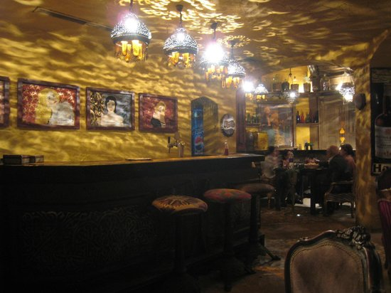 Abou el-Sid : Le bar du restaurant