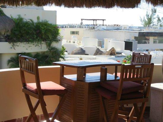 El Taj Oceanfront & Beachside Condos Hotel: Rooftop