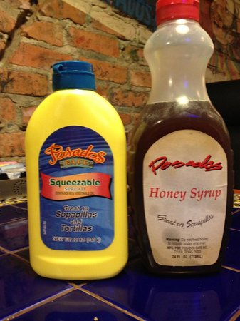 Posados: They Have Their Own Butter/Syrup