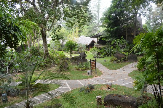 Khaolak Paradise Resort: La vue depuis notre terrasse