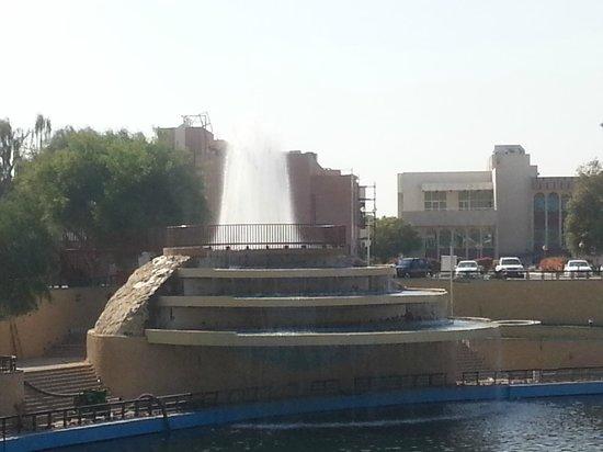 Ain Al Faida One To One Hotel And Resort: Fountain