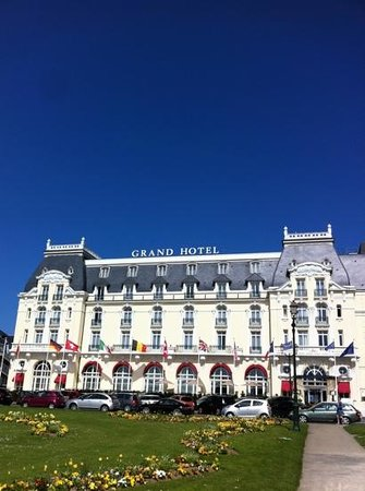 outside picture of le grand hotel cabourg mgallery collection cabourg tripadvisor. Black Bedroom Furniture Sets. Home Design Ideas