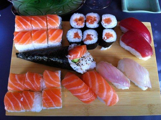 Yamato : Assortiment de sushis et de makis