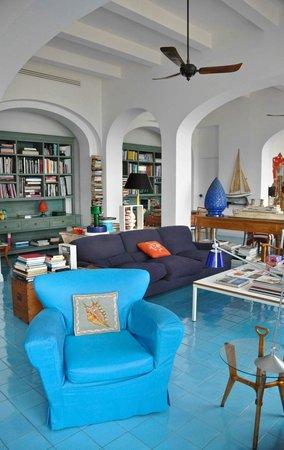 Maison La Minervetta: Hotel lounge / sitting room