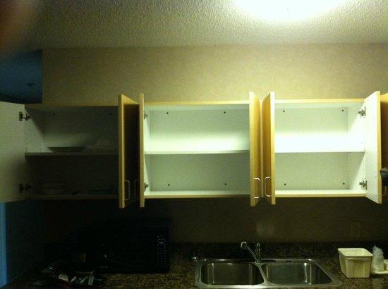 Sleep Inn, Inn & Suites Ronks : Empty Cabinets
