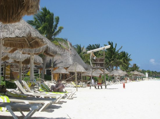 Mahekal Beach Resort: Playa del Hotel