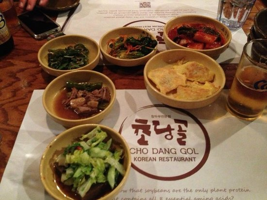 CHO DANG GOL: korean specialties while waiting for our lunch