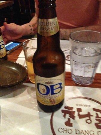 CHO DANG GOL: beer