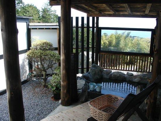 Yokohama Fujiyoshi Izuten: One of the private onsens