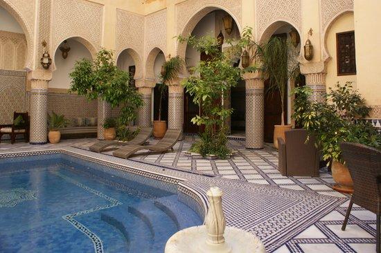 Riad Salam Fes: La piscina del Riad Salam