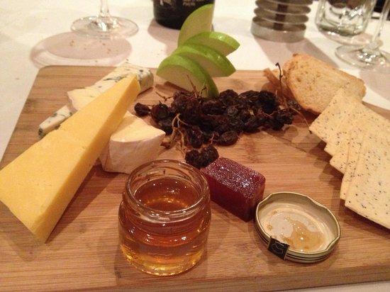The Playford Restaurant: Cheese Board