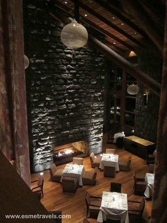 Tambo del Inka, a Luxury Collection Resort & Spa: DINING ROOM FROM ABOVE