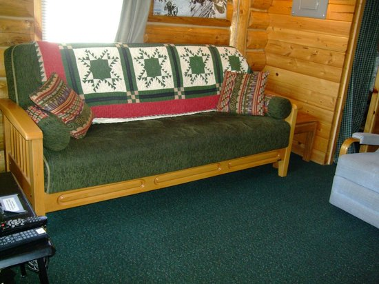 Talkeetna Cabins: Cabin 1 Living Area