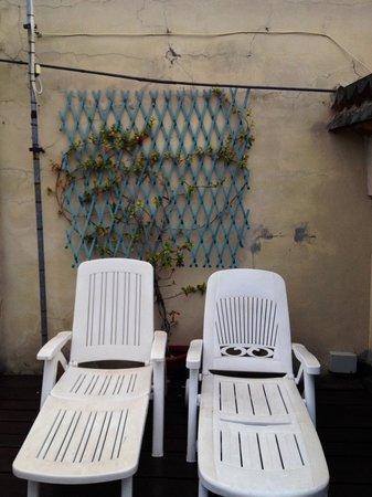 Ca' Leon D'Oro: Rooftop terrace