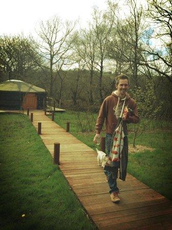 Cwm Tawel Yurts: Wonderful weekend @cwmtawel