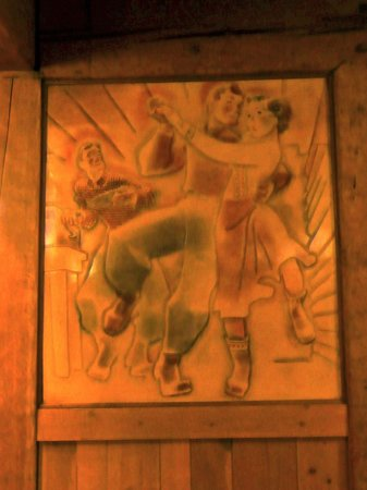 Timberline Lodge : Games room wall decorations