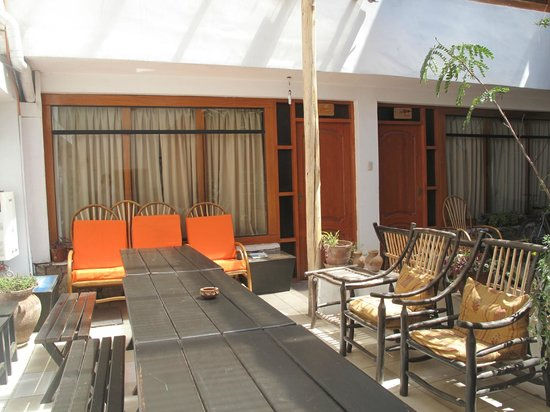 Casa de Mama Cusco 2-The Ecohouse: terraza interior