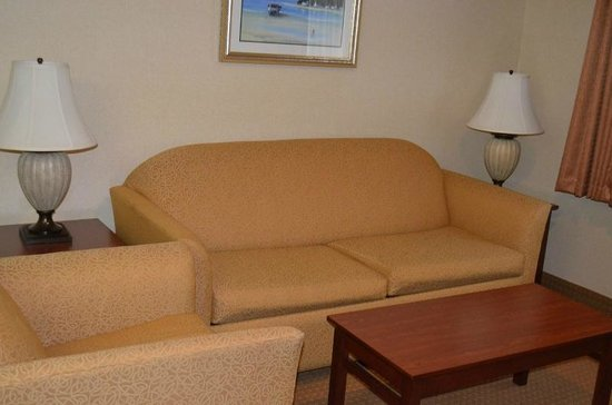 BEST WESTERN PLUS Landmark Inn: King Suite view1
