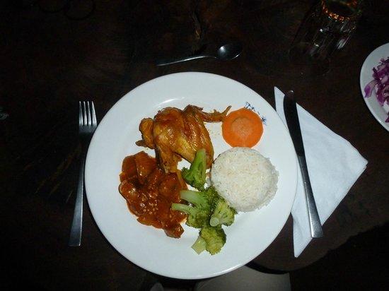 Liana Lodge: Dinner