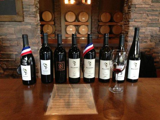 Silvara Vineyards: Silvara's Wines