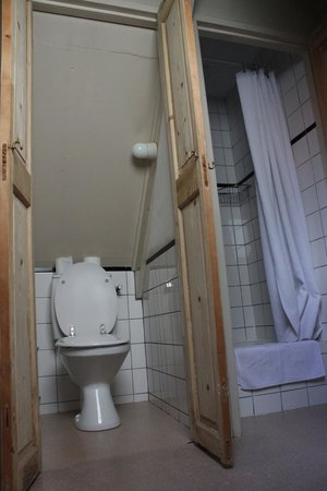 B&B Herengracht 21: appartamento con vista interna: bagno