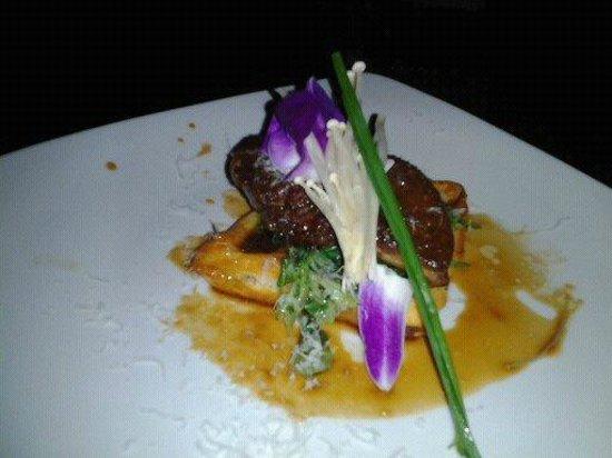 Carambola: Foie Gras on waffle