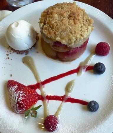 Belvedere Hotel: Apple Crumble