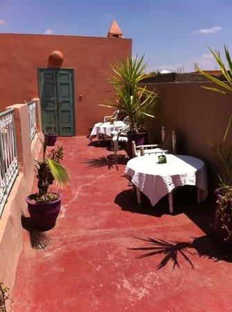 Riad Dar Mchicha : roof terrace