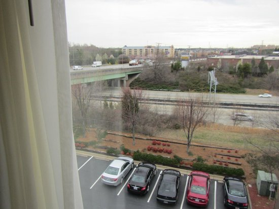 Hampton Inn Winston-Salem - I-40 / Hanes Mall : View from room