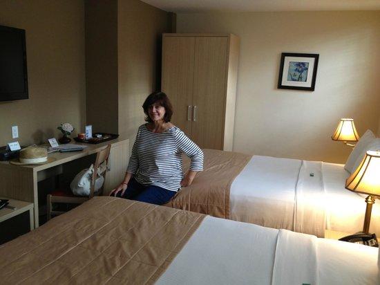Hotel Villa Italia : Fantastica cama y habitacion