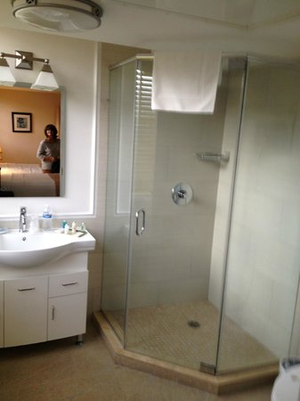 Hotel Villa Italia : Excelente ducha