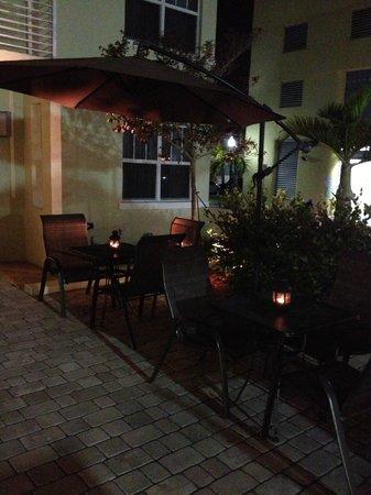 Hotel Villa Italia : Terraza exterior
