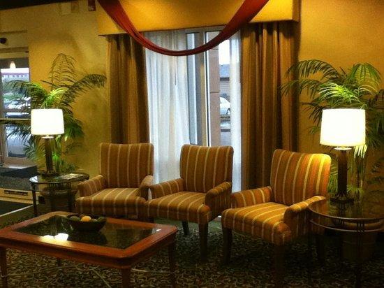 Fairfield Inn & Suites Indianapolis Northwest : Lobby seating area